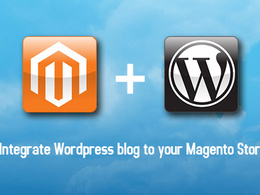 Add a Wordpress blog page to your existing Magento Store and style it to look p