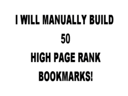 Do manual 10 High PR social bookmarks