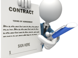 Draft an agreement from a hirer to the hired person