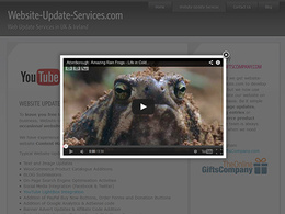 Add a Lightbox overlay to your HTML website to display your YouTube video