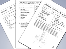 Write a patent application including claims