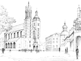 Produce architectural or concept sketches based on photographs or image sources