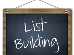 "Build a conact list of 100 ""key decision makers"" for your business"