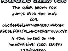 Create a font based off of your handwriting