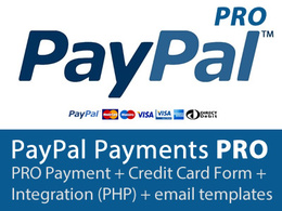 Integrate PayPal Payments PRO (UK) to your website