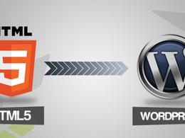 Convert your HTML to Wordpress