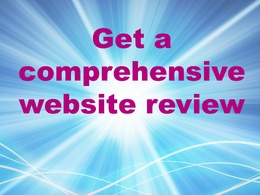 Provide you with a comprehensive website review
