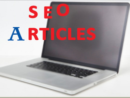Do all the writing you need for your SEO(50 500 word articles)