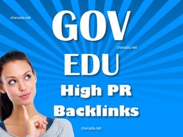 Create 50 edu and gov links and 20 PR9 Links to your website