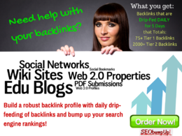 Give you a total of 75+ Google-SAFE backlinks with 2000+ link boosters
