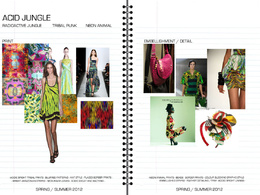 Create a stunning complete season fashion trend forecasting pack (4 trends)