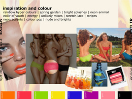 Create a stunning Fashion Trend Moodboard for your fashion brand or clothing range