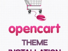 Install any opencart theme onto your website