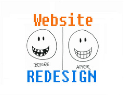 Redesign/Re-engineer your website to a successful one