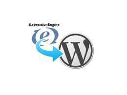 Convert expression engine to WordPress