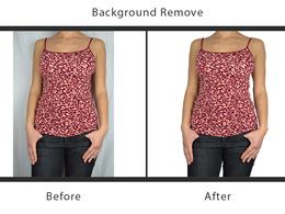 Remove background of 40 photos