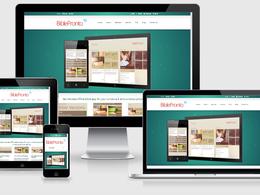 Develop a responsive WordPress website