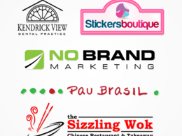 Design your perfect professional logo with unlimited concepts and unlimited revisions