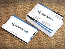 Design you professional print-ready double sided business card