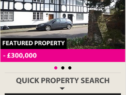 Create an estate agent mobile website with search for Vebra, Domus, etc