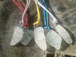 Make you a beautiful seaglass pendant