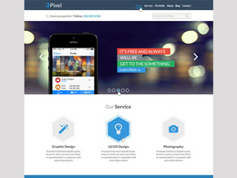 Design an awesome homepage template of website [.psd only]