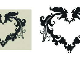 Redraw your vector logo or image in high resolution vector format