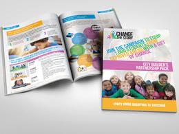 Design your 8 page brochure - 5* 100% hourlie feedback