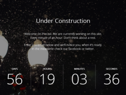 Can create an awesome HTML5/CSS3 Coming Soon/Landing Page