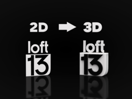 Turn your 2d logo into 3d