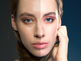 Deliver an high ended basic retouched photo in 24h