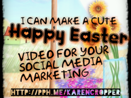 Make an Easter greeting video for your business to upload to your youtube channel