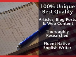 Write a 500+ word, 100% unique article, product review or blog post