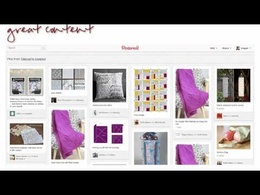 Create a Pinterest Account with 20 Images and Some Boards, for free website traffic