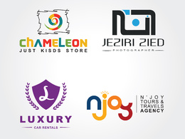 Design professional and modern logo with unlimited revisions