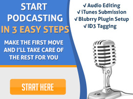 Setup your podcast and submit to iTunes