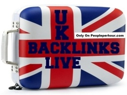 Create 20 permanent UK backlinks from co.uk domains with high page rank