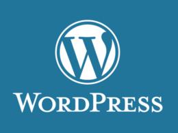 Design WordPress website with Logo