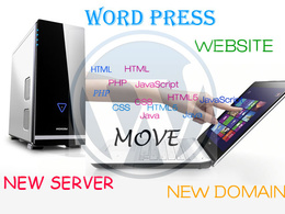 Move WordPress site to new host or new Domain for you