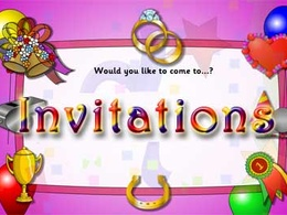An invitation and RSVP for any occasion!