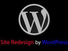 Redesign your current website into WordPress site