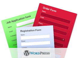Install a form on your Wordpress website