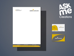 Design your logo, letterhead, business card, envelope and flyers