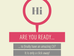 Write you a professional CV that will help you stand out from the crowd