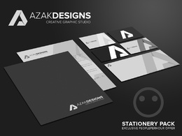Design your exclusive stationary with unlimited revisions