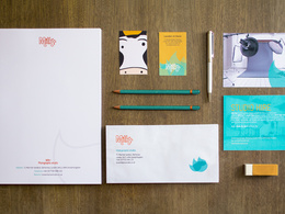 Design your logo and brand's stationary package with unlimited revisions