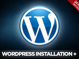 Install wordpress for your website on your server