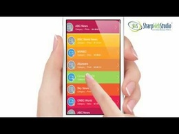 Design and animate Promotional Video for your app of 15 secs