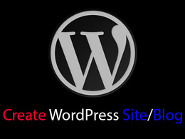 Create and design your WordPress site or blog