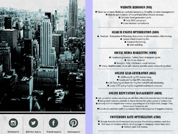 Design a professional print-ready flyer with unlimited revisions